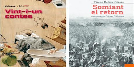 """PRESENTACIÓ: """"Somiant el retorn"""" i """"Vint-i un contes"""" entradas"""