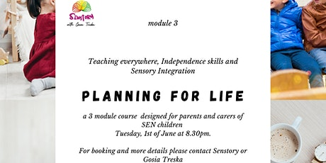 Planningforlife Teaching Everywhere, Independence  and sensory integration tickets