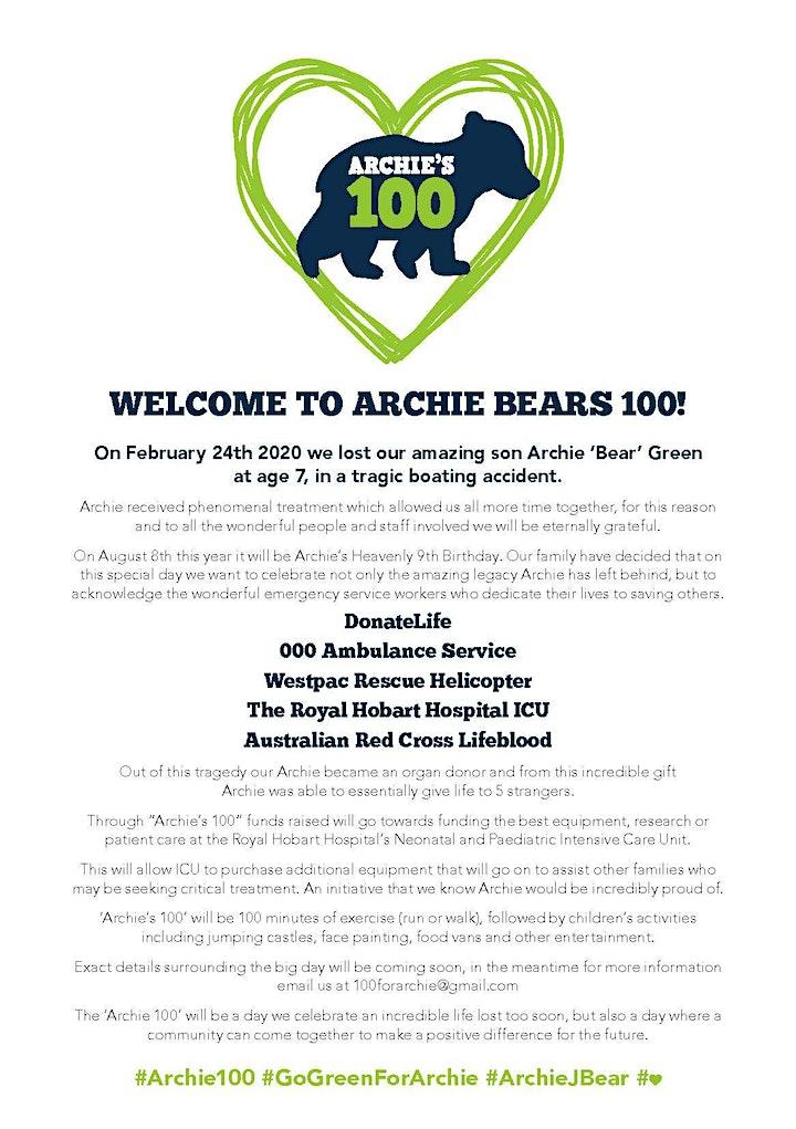 Archie's 100 image