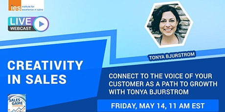 CREATIVITY IN SALES: Connect to the Voice of Your Customer tickets