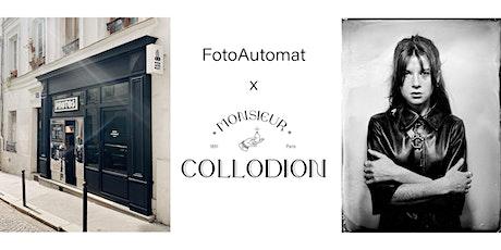 FotoAutomat x Monsieur Collodion billets
