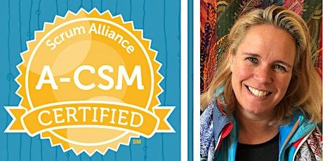 A-CSM Mentoring -ScrumAlliance -Advanced Certified ScrumMaster -English tickets