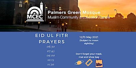 Eid ul Fitr Prayers: 10:15am tickets