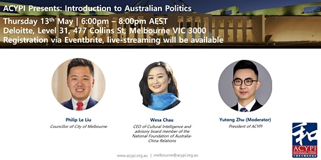 Introduction to Australian Politics tickets