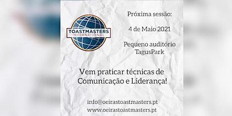 Formação em Comunicação e Liderança bilhetes