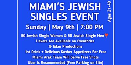 Miami's Jewish Singles Event @ Club Vault tickets