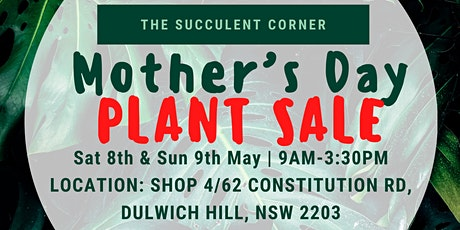 Mother's Day Plant Sale tickets