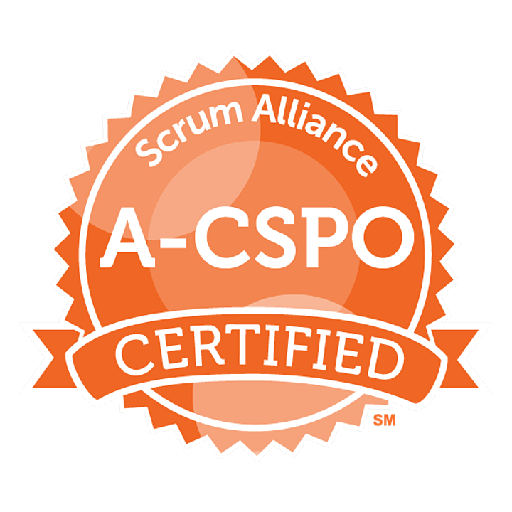 A-CSPO Mentoring -ScrumAlliance -Advanced Certified Product Owner -ENGLISH image