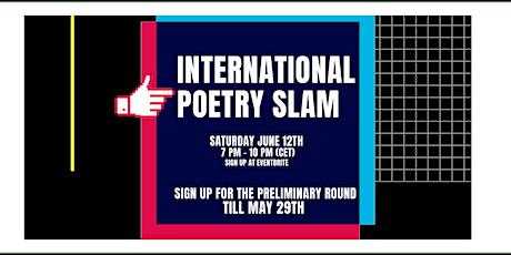 International Poetry Slam tickets