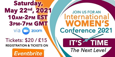It's Time International Women's Conference tickets