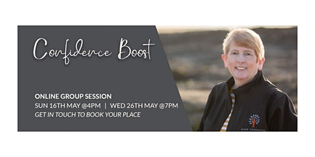 Group Confidence Boost Session tickets