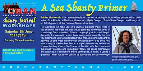 A Sea Shanty Primer with Talitha MacKenzie tickets