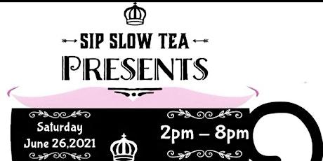 Sip Slow Tea Presents  'Poppington, the Tea Party' Popup Shop tickets