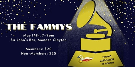 The FAMMY's tickets