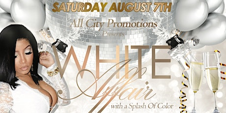 WHITE AFFAIR with a Splash of Color tickets