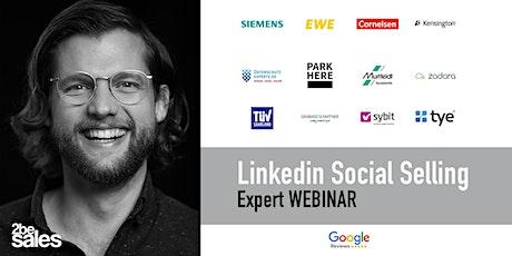 Social Selling Linkedin Basics Webinar / GERMAN tickets
