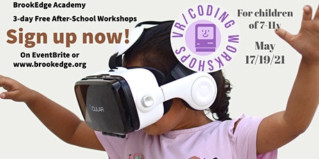 Pre-Registration: 3-day Free Children VR/Coding Workshops (7-11Y) tickets