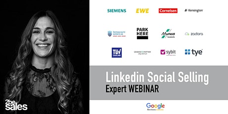 LinkedIn Social Selling  Webinar  / ENGLISH billets