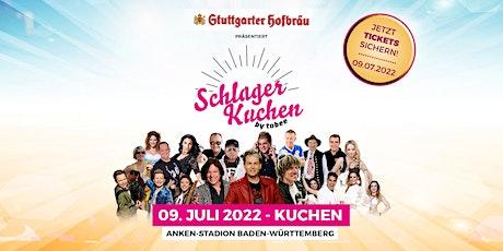 Schlagerkuchen 2022 - Das große Schlagerfestival von TOBEE Tickets