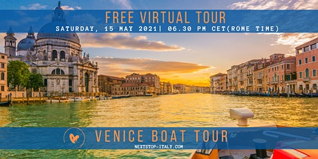 FREE VIRTUAL TOUR: VENICE-  A panoramic boat tour tickets