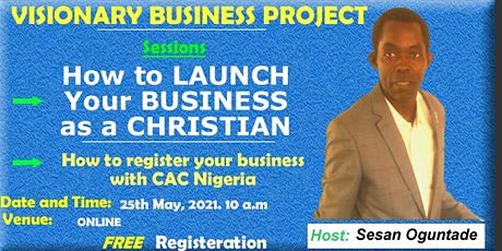 How to Launch Your Business as a CHRISTIAN tickets