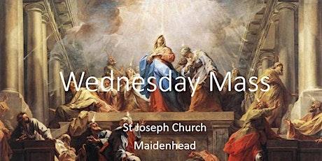 Book Online: Wednesday Mass (St Joseph) tickets