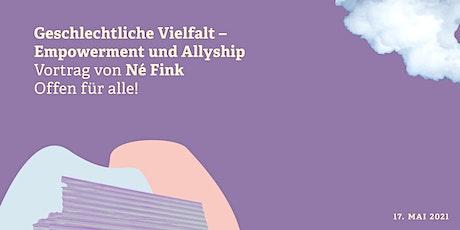 Vortrag: Geschlechtliche Vielfalt - Empowerment und Allyship Tickets