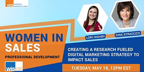 Women in Sales: Research Fueled Digital Marketing Strategy to Impact Sales tickets