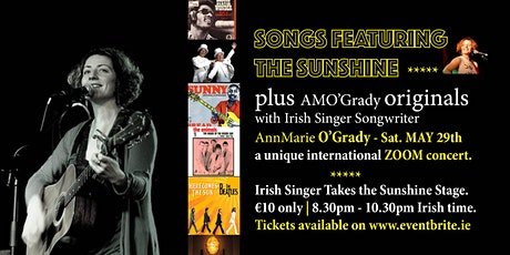 Sunshine Songs Concert (and Originals) with AnnMarie O'Grady tickets