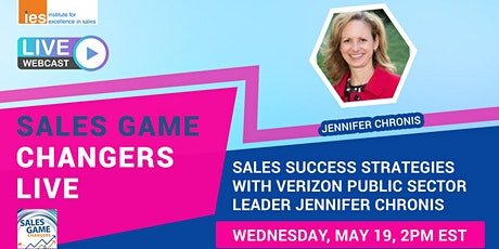 SALES GAME CHANGERS LIVE: Sales Success Strategies with Jennifer Chronis tickets