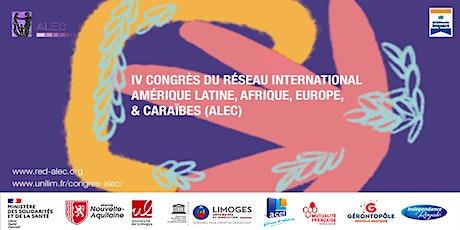IV Congrès International ALEC billets