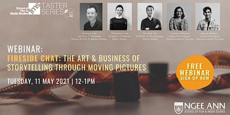 Webinar: The Art & Business of Storytelling through Moving Pictures tickets