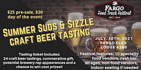Summer Suds & Sizzle Craft Beer Tasting @ Fargo Pop-Up Food Truck Fest tickets