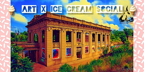 Art x Ice Cream Social - Benefiting Union Station  & ArtHouse Youth Events tickets