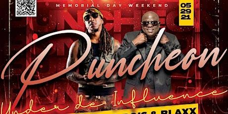 "Puncheon "" Under De Influence"" Featuring Blaxx and Kerwin Dubois Live tickets"