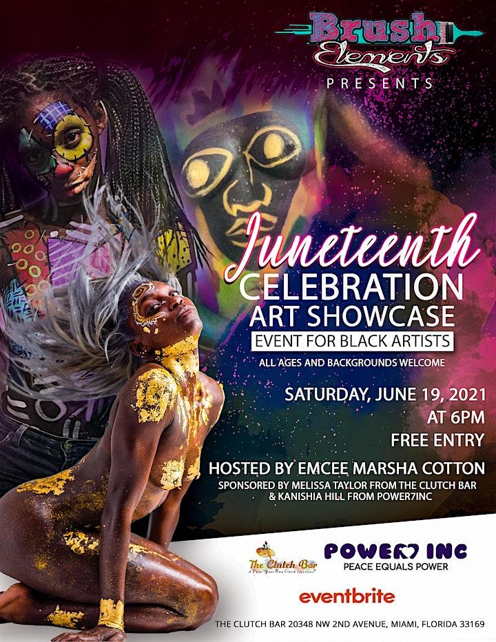 Juneteenth Celebration Art Showcase image
