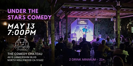 Comedy Chateau presents: Under The Stars Comedy tickets