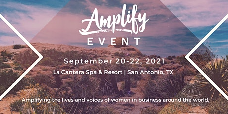 Amplify Event Sept. 20-22, 2021 tickets