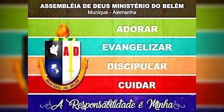 Culto Público Louvor e Adoração AD Belém Munique 09/05/2021 Tickets