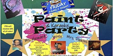 Friday Night Family Paint Party & Karaoke tickets