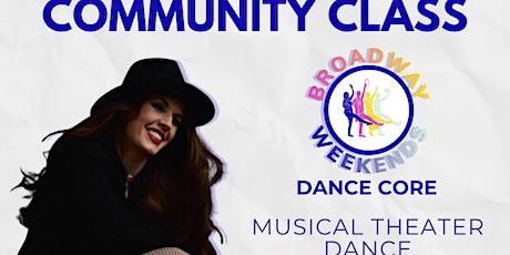Musical Theater Dance tickets