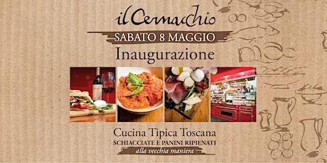 Inaugurazione de Il Cernacchio Food & Wine tickets