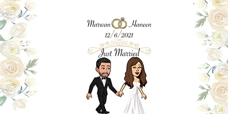 Marwan & Haneen's Wedding ❤ tickets