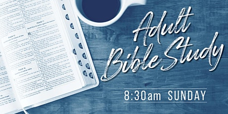 Bible Study 8:30  am tickets