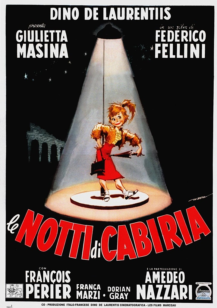 Imagen de FELLINI (8) Le notti di Cabiria /Las noches de Cabiria.F.Fellini, 1957