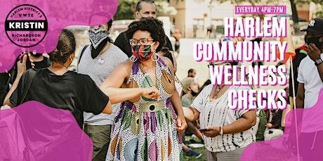 Monday's Socially Distanced Harlem Community Wellness Checks tickets