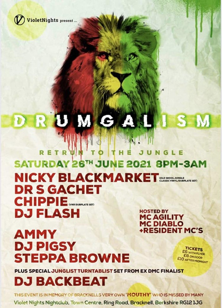 Drumgalism - Return to the Jungle image