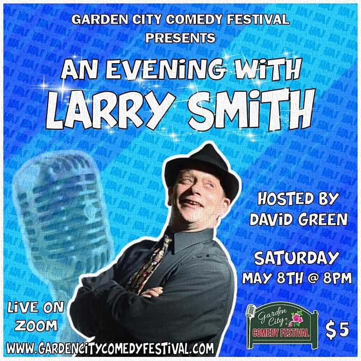 Garden City Comedy Festival presents An Evening with Larry Smith image