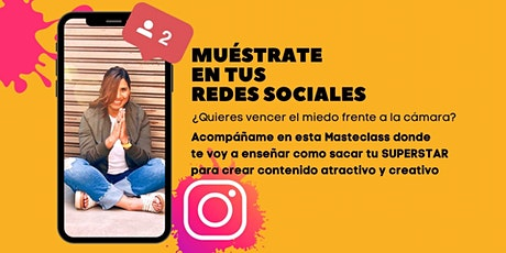 MUÉSTRATE EN TUS REDES SOCIALES entradas