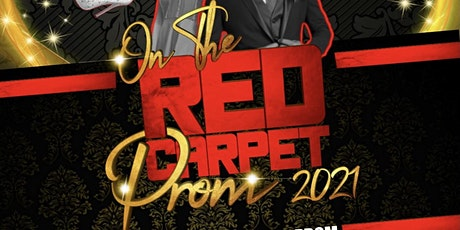 On the Red Carpet - Your Time to Shine Remote Learner's 2021 Prom tickets